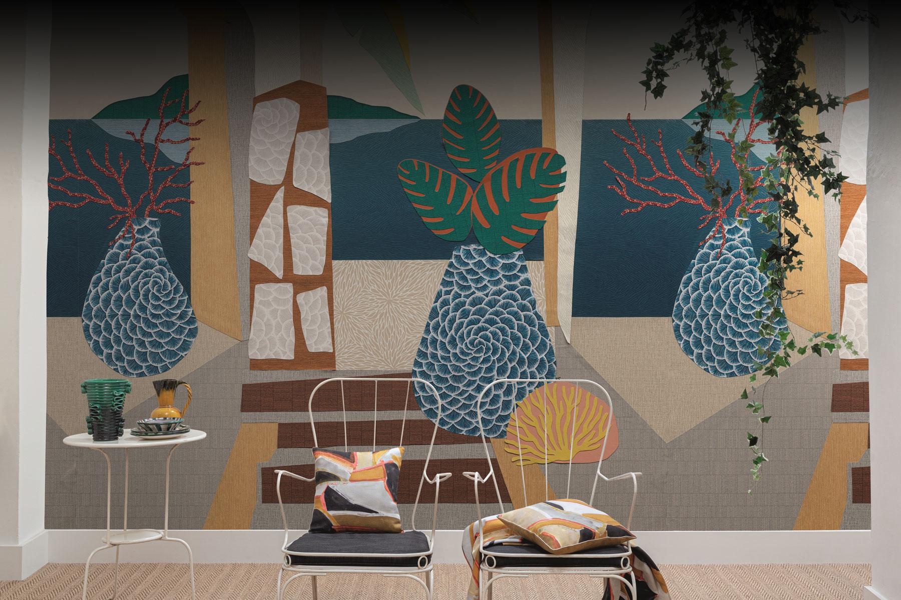 Collection papier peint Karin Sajo MONTECOLINO